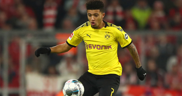 Jadon Sancho open to Manchester City return